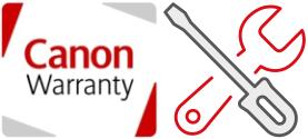 Požadavek na záruční opravu Canon